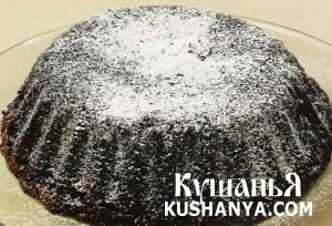 Шоколадный кекс (в микроволновке) фото