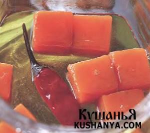 Острая морковь в масле фото