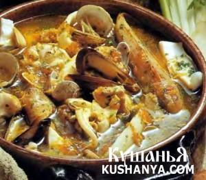 Буйабес (марсельский суп из морепродуктов) фото