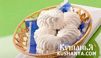 Фото Домашний сахарный зефир