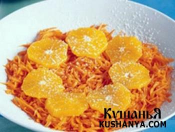 Фото Апельсиново-морковный салат