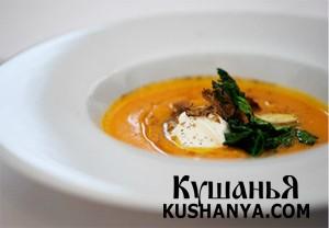 Фото Крем-суп из тыквы