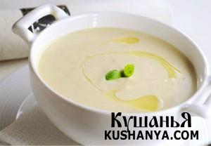 Фото Крем-суп из цветной капусты