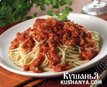 Фото Соус для спагетти