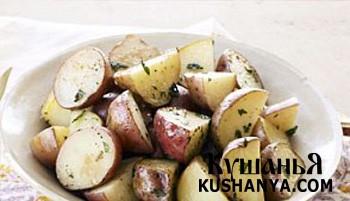 Фото Конверт с картофелем и травами