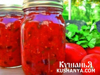 Фото Паста томатная острая