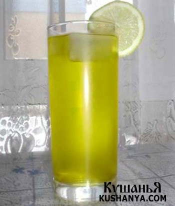 Фото Лимонный щербет