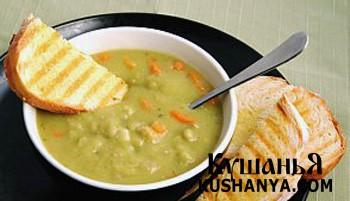 Фото Диетический гороховый суп