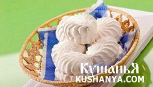 Домашний сахарный зефир фото