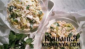 Салат из огурцов и мяты фото