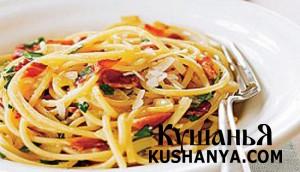 Спагетти «Карбонара» фото