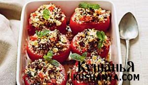 Фаршированные томаты фото