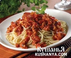 Соус для спагетти фото