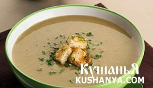 Фото Грибной крем-суп