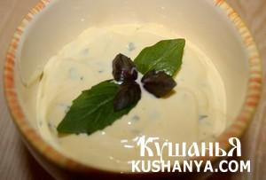 Фото Базиликовый соус