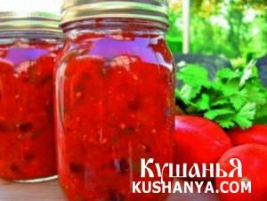 Паста томатная острая фото