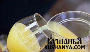 Ананасовый напиток фото