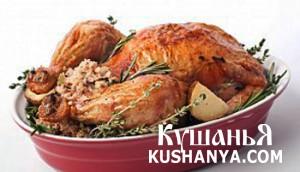 Курица с кунжутом и овощами фото