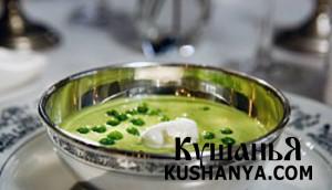 Гороховый суп-пюре фото