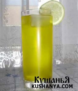 Лимонный щербет фото