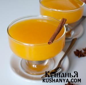 Апельсиновое желе с пряностями фото
