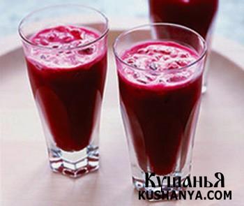 Фото Морковно-свекольный сок