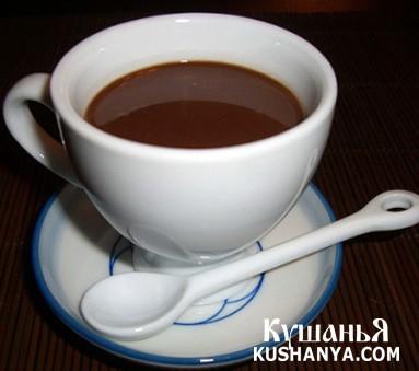 Фото Шоколадно-кофейный напиток