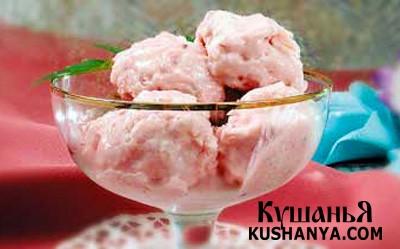 Фото Мороженое из йогурта