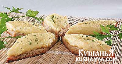 Фото Бутерброды с брынзой и овощами