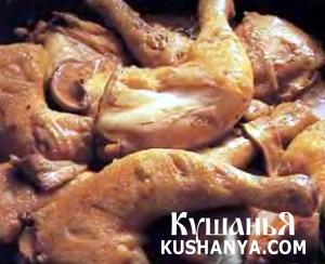Куриные окорочка в кисло-сладком соусе фото