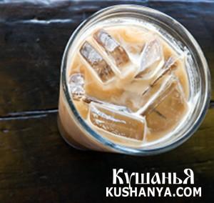Кофе со льдом фото