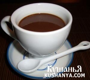 Шоколадно-кофейный напиток фото
