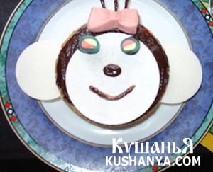 Кекс «Мартышка» фото