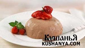 Фото Мороженое шоколадное