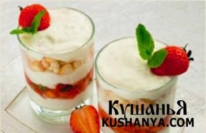 Десерт с риккотой фото