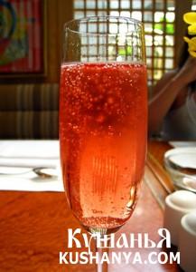 Малиновое шампанское фото