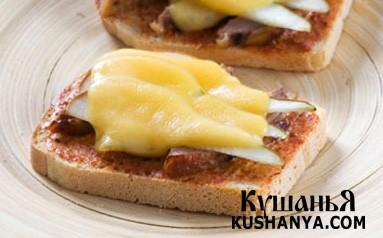 Фото Горячие бутерброды с уткой