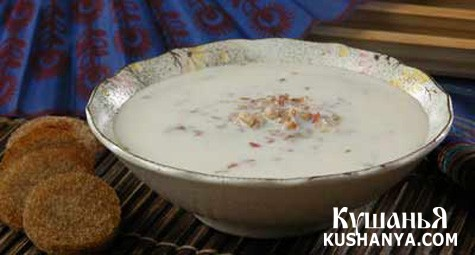 Фото Молочный суп с гречкой