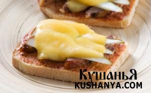 Горячие бутерброды с уткой фото