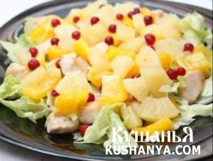 Салат ананасовый фото