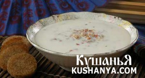 Молочный суп с гречкой фото
