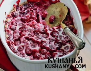 Фото Вишневый десерт «Клафути»