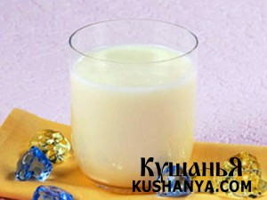 Молочный кисель фото