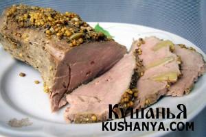 Свинина запеченная в духовке фото