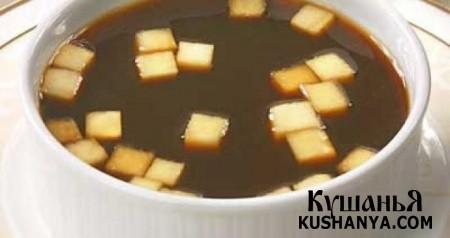 Фото суп из шиповника с яблоками