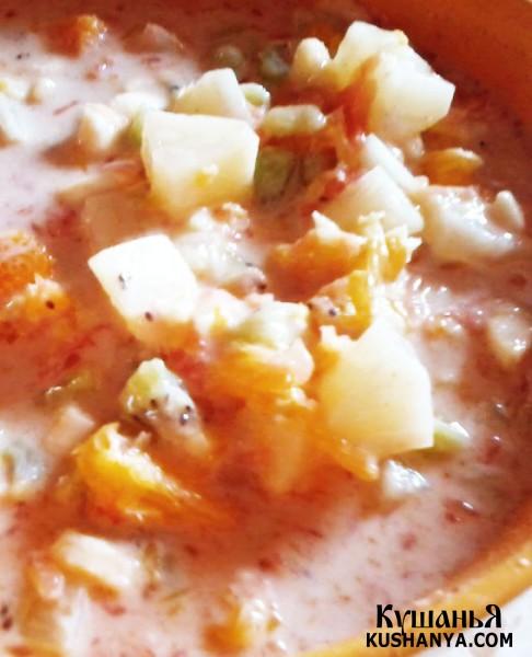 Фото Суп йогуртовый