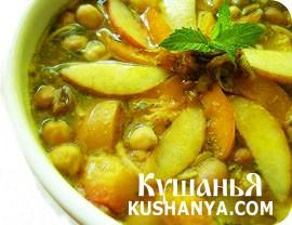 Фото Суп фруктовый с медом