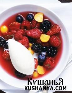 Китайский фруктовый суп фото