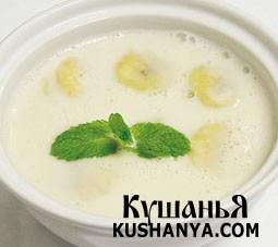 Суп с бананами в кокосовом молоке фото