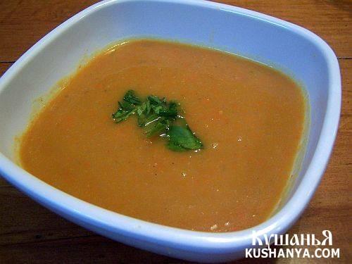 Фото Молочный суп из моркови